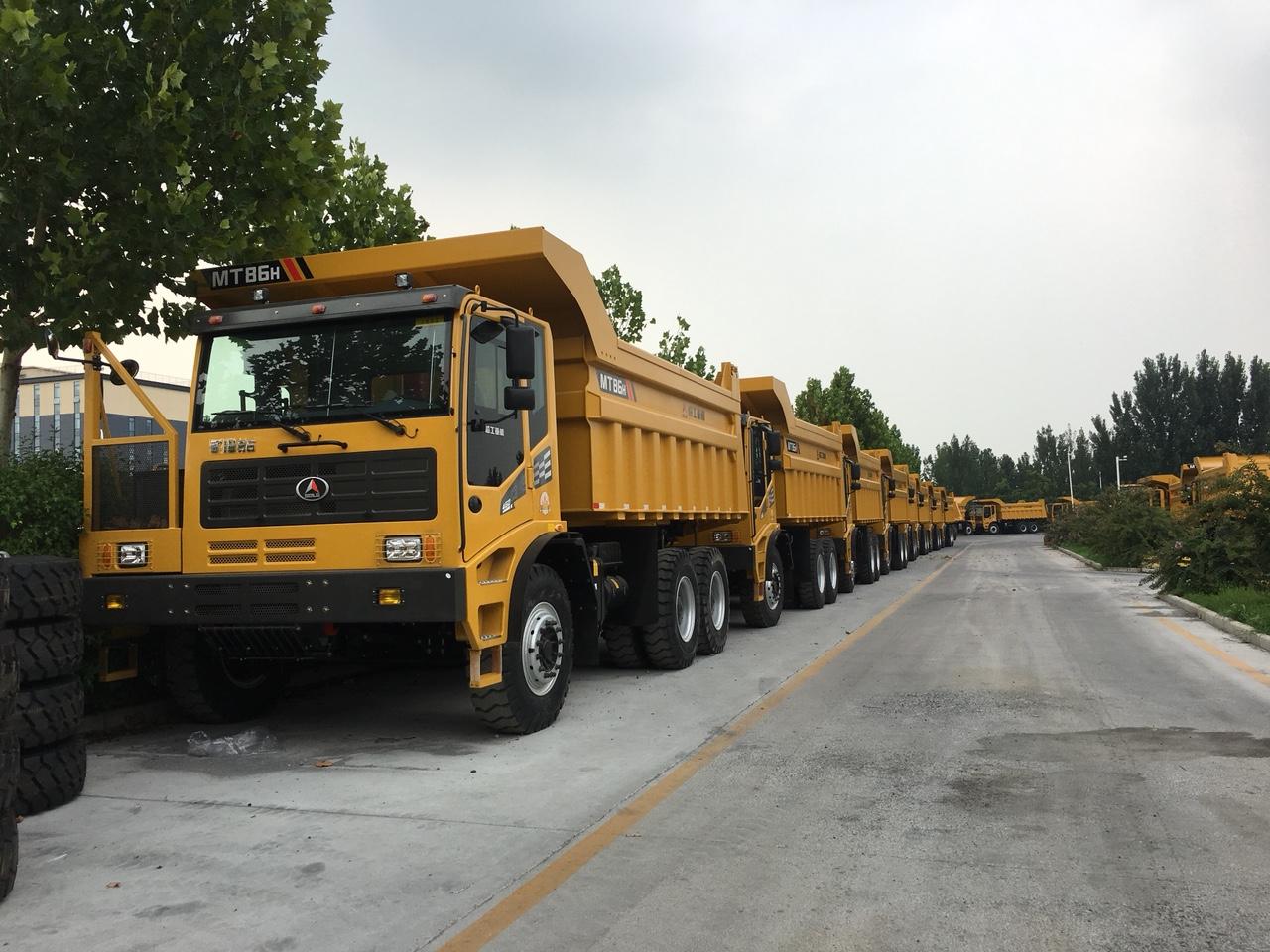 xe ben mỏ 80 tấn MT86 bảo khang corp