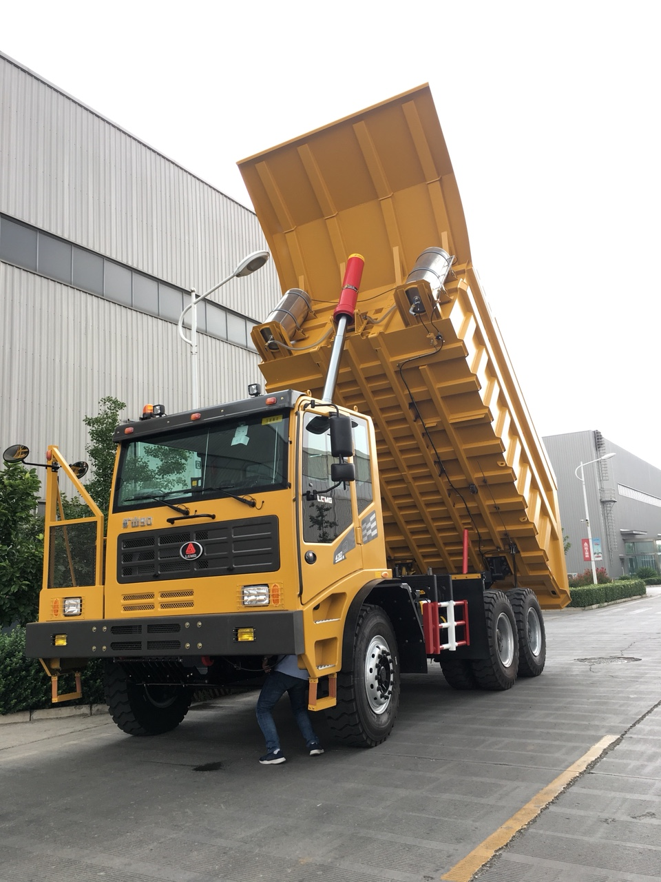 Xe ben mỏ MT90S chính hãng